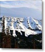 Flat Top Mountain Metal Print