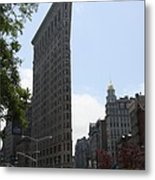 Flatiron Building - Manhattan Metal Print