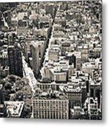 Flatiron Building - New York City Metal Print