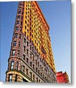 Flatiron Building Profile Metal Print