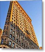 Flatiron Building Profile Too Metal Print