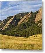 Flatiron Morning Light Boulder Colorado Metal Print