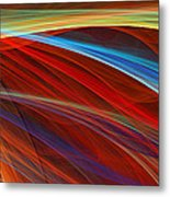 Flaunting Colors Metal Print