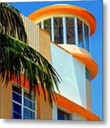 Flavour Of Miami Metal Print by Karen Wiles