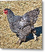 Fleeing From The Colonel ? Metal Print