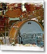 Fleetwood's Drums Metal Print