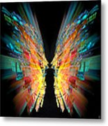 Flight Abstract Metal Print
