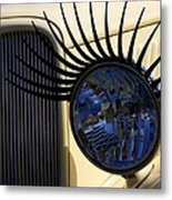 Flirting With A 1933 Ford Metal Print