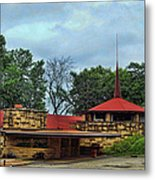 Fllw Welcome Center - Spring Green- Wisconsin Metal Print