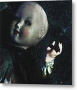 Floating Doll Metal Print