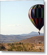 Floating Down The Hill Metal Print