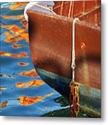 Floating On Blue 11 Metal Print
