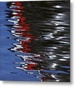 Floating On Blue 14 Metal Print