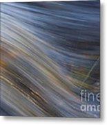 Floating River Vikakoengaes Metal Print