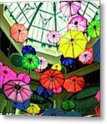 Floating Umbrellas In Las Vegas  Metal Print