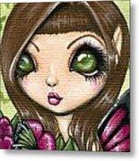 Floewer Fairy Fleur Metal Print