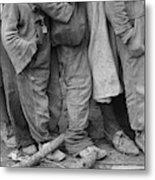 Flood Refugees, 1937 Metal Print