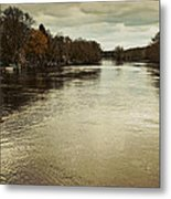 Flood Waters Milwaukee River 2013 Metal Print
