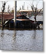 Flooding Of Stores And Shops In Bangkok Thailand - 01138 Metal Print by DC Photographer