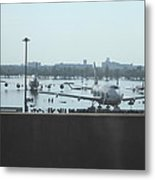 Flooding Of The Airport In Bangkok Thailand - 01135 Metal Print