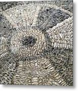 Floor Of Shells Metal Print