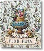 Flor Fina Metal Print