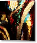 Floral Abstract I Metal Print
