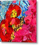 Floral Abstract Part 1 Metal Print