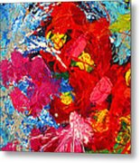 Floral Abstract Part 3 Metal Print