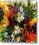 Floral Art Xiv Metal Print