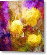 Floral Art Xxxxv Metal Print
