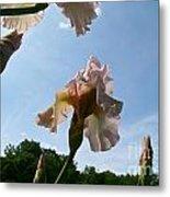 Floral Clouds Metal Print