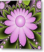 Floral Decorations Metal Print