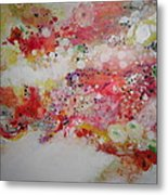 Floral Escape Metal Print