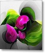 Floral Expression 111213 Metal Print