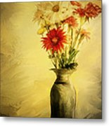 Floral Expression  Metal Print