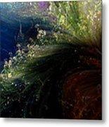 Floral Fantasia Metal Print