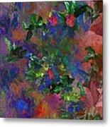 Floral Fantasy 010413 Metal Print