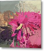 Floral Fiesta - S33bt01 Metal Print by Variance Collections
