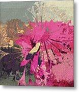 Floral Fiesta - S33bt01 Metal Print
