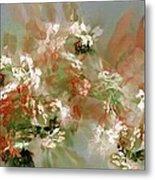 Floral Fractal 030713 Metal Print