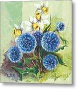 Floral II Metal Print