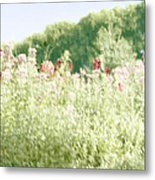 Floral Impressions Metal Print