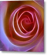 Floral Light Metal Print by Ann Croon