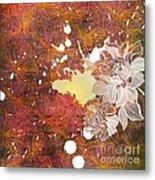 Floral Print Metal Print by Ankeeta Bansal
