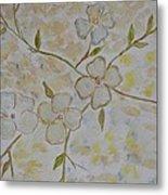 Floral Stem Metal Print