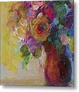 Floral Still Life Metal Print by Mary Wolf