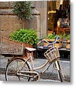 Florence Bicycle  Metal Print