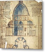 Florence: Brunelleschi Metal Print