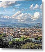 Florence Panorama Metal Print
